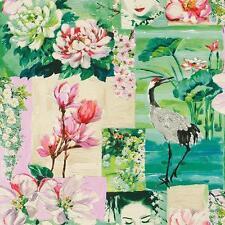 Rasch Oriental Motif Fleur Papier peint Japon oiseaux en relief Rouleau 870107