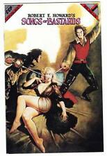 1992 Comic book ROBERT E. HOWARD'S SONGS OF BASTARDS - Maelo Cintro, Marcus Boas