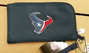 Houston Texans ID Wallet Wristlet Cell Phone Case Charm 14 Purse