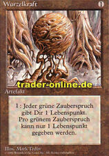 Wurzelkraft (Wooden Sphere) Magic limited black bordered german beta fbb foreign