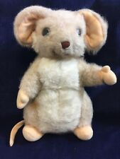 """Vintage Merrythought Soft Toy Collectable  Mouse 9"""" Tall"""