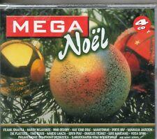 COFFRET 4CD MEGA NOEL /F SINATRA/T ROSSI/C TRENET/THE PLATTERS NEUF SCELLE