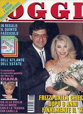 """* OGGI N°27/ 29/GIU/1992 * FRIZZI-DALLA CHIESA : DOPO 9 ANNI FINALMENTE IL """" SI"""