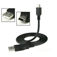 1m USB 2.0 A Male to Mini 5 Pin B Data Charging Cable Cord Adapter DS PC CAMERA