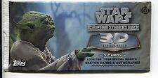Star Wars Empire Strikes Back Widevision 3D Factory Sealed Hobby Packet / Pack