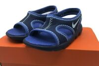 Nike Sunray 9 (TD) Size 2c  Blue Baby Shoes 344636-402  - New with Box!