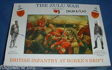 A CALL TO ARMS SET #7 - BRITISH INFANTRY AT RORKES DRIFT. 1/32 SCALE