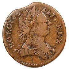 1778 V 12-78B E-MDS Clip Machins Mills Colonial Copper Coin