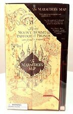 Wizarding World of Harry Potter Marauder's Map w/ Moving Footprints Universal