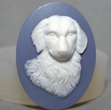 Camafeo Molde de Silicona Pastelería Cupcake Perro Resina Fimo Arcilla Polimérica molde de yeso