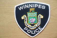 Patches: WINNIPEG CANADA POLICE PATCH (NEW* apx.10x9.510 cm)
