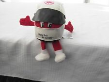 GRAND PRIX AIR CANADA CANADIAN HELMET PLUSH DOLL MASCOT FORMULA 1 RACE RACING