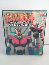 Bandai 1998 The Super Robot 01 Mazinger Z Gashapon Candy Toy Model Kit Figure JP
