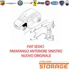 FIAT SEDICI PARAFANGO ANTERIORE SINISTRO NUOVO ORIGINALE 71768236