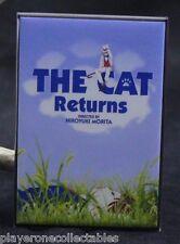 """The Cat Returns Movie Poster 2"""" X 3"""" Fridge Magnet. Japanese Anime"""