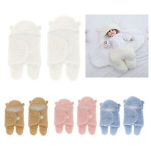 Cute Baby Swaddle Coperta Sacco a pelo per neonato Ragazza facile regolabile