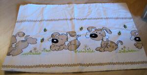 Kissenbezug für Kinder mit Hunde Motiv 60 x 40 cm