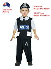 Boys Police Costume Book Week Children's Halloween Fancy Party Dress Kids