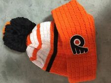 Philadelphia Flyers 50 years  NHL hockey ski cap beanie  hat NEW