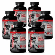 TESTOBOOSTER T-855 - Muscle Strength, Sexual Testosterone Extract Supplements 6B
