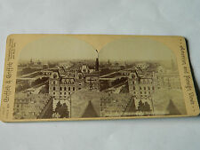 AMERICAN and FOREIGN views GRIFFITH paris seven bridge STEREOSCOPIC photo ANCIEN