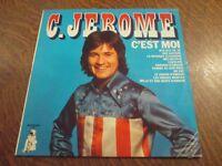 33 tours C. JEROME c'est moi enregistrements originaux