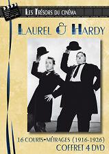 DVD Les trésors du cinéma : Laurel & Hardy - Volume 1 à 4 (1916-1926) - 4 DVD