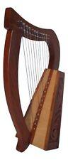 Irisch Keltische Kinder Harfe Harp 12 Saiten NEU Anfängerharfe TOP Qualität