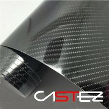 VINILO CARBONO 5D brillante glossy real - 152x60 cm - CARBON FIBER VINYL 24/48h.