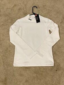 Boys XL Under Armour ColdGear Fitted Long Sleeve Vase Layer Shirt NWT