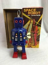 Schylling Collector Blue Color Space Robot Toy