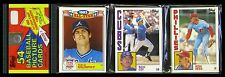 1984 Topps Baseball Rack Pack - DALE MURPHY ALL-STAR & RON CEY ON THE TOP!!!!