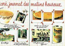 PUBLICITE ADVERTISING 0217  1981  Ricoré (2p)  chicorée café soluble petit déjeu