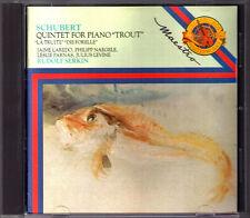 Rudolf SERKIN: SCHUBERT Trout Quintet Forellequintett CBS CD Jaime Laredo Japan