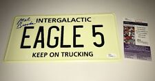 Mel Brooks Signed License Plate IN PERSON PROOF AUTOGRAPH SPACEBALLS JSA COA