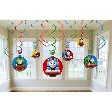 Party Supplies Boys Decorations Birthday Thomas the Tank Hanging Swirls