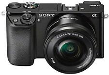 "Sony Alpha 6000 digitale Systemkamera 24MP 16-50mm Objektiv 3"" Display 620022"