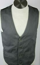 Authentic GUESS Button Front Casual Dress Suit VEST Size small