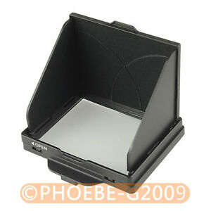 LCD Screen Hood Pop-Up Shade Cover for NIKON D610 D600