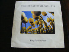 """Beautiful  South   Song For Whoever / Straight In At 37  Original 1989  7"""" Vinyl"""