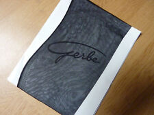 Bas nylon fully fashioned couture stockings vintage gris foncé T2