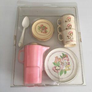 Strawberry Shortcake Tea Set Chilton Toys Vintage USA