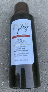 NEW Orlando Pita Play COPPER RED Recast Tinted Oil Spray Glaze 5oz, Hair Shine
