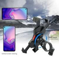 Support de téléphone portable Support de guidon Rotation 360 ° pour vélo de m D1