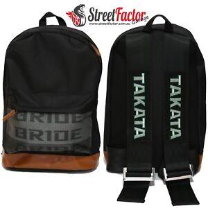 JDM Street Factor Backpack - Black Harness