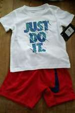 Nike Toddler Boy's Shorts & Shirt Size 3T NEW Red, White,Blue