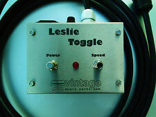 Leslie Speaker Toggle - Guitar amplifier to Leslie adapter (Auxiliary input)