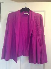 Ladies Caribbean Joe Sweater Size L Petite In Good Pre-owned Condition!