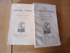 RARE LAURENCE STERNE VIE OPINION TRISTRAM SHANDY Ed LEMERRE CLERGE BRITANNIQUE
