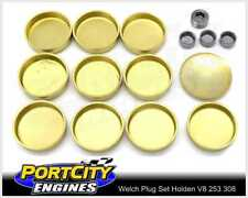 Welch Welsh Brass Core Plug Kit Set for Holden V8 253 308 355 5.0L 5.7L WPK-H308